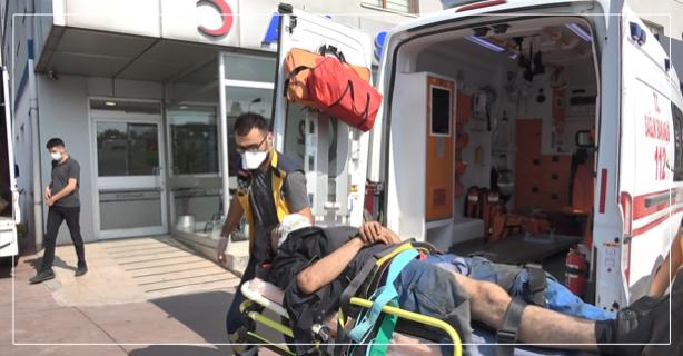 Tersanede kaza, bir kişi ağır yaralandı