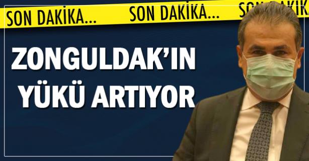 Zonguldak'ın yükü ağır..