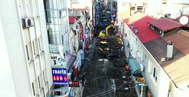 Nizam caddesi prestij caddelerinden biri haline gelecek…