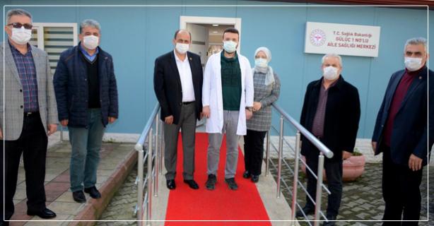 Gülüç'te Aile Sağlığı Merkezi açıldı