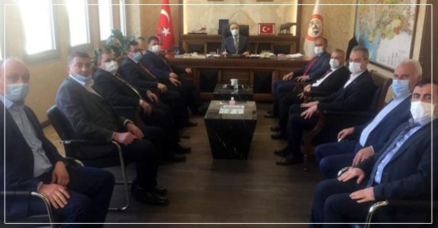 Erdoğan'a hayırlı olsun ziyareti