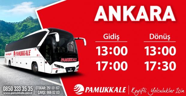 İşte Ankara otobüs saatleri