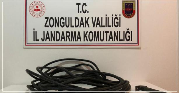 Kablo hırsızlığı: İki gözaltı