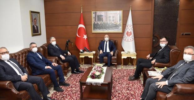 MÜSİAD Genel Başkanı Zonguldak'ta