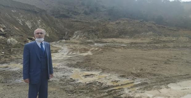 """""""Ormanlık alanı mahvettiler, TOKİ'ye yol yaptılar"""""""