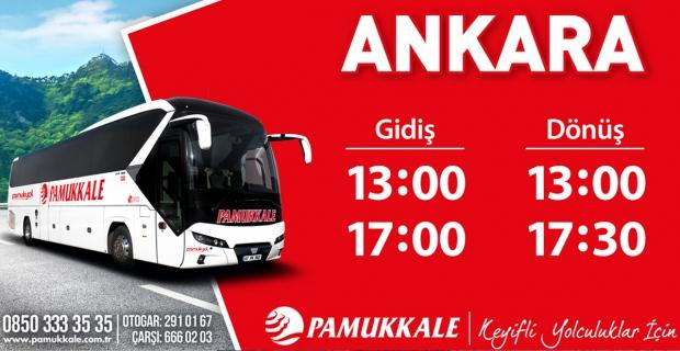 Pumakkale: Ankara otobüs saatleri