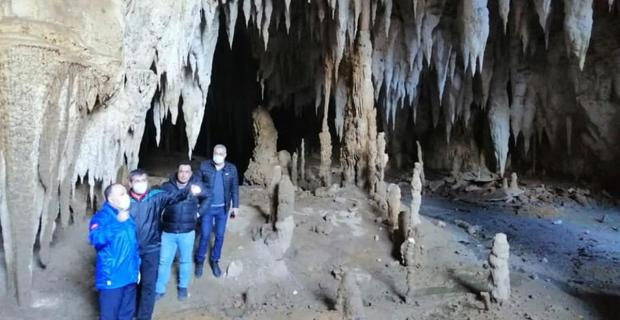 Vali, Bağlık Mağarası'nın turizme kazandırması talimatı verdi