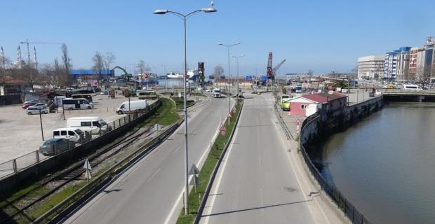 Zonguldak'ta pazar günü kısıtlama sessizliği
