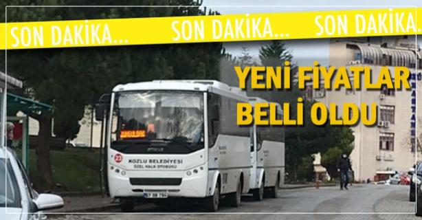 KOZTAŞ zamlandı..