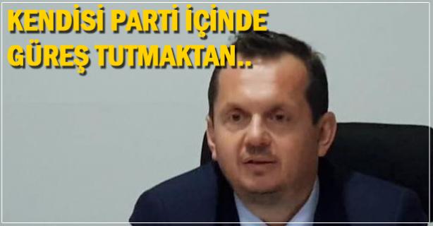 Parti içinde güreş tutmaktan, Zonguldak'taki sorumluluklarını bilmiyorlar
