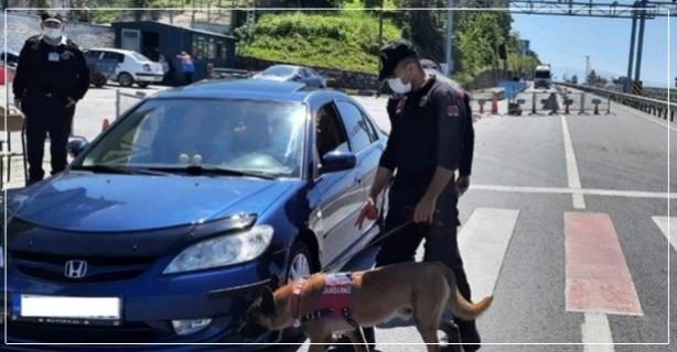 20 Şüpheli ve 2 araç yakalandı