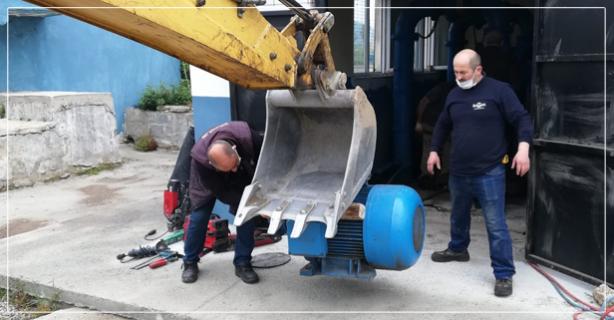 32 Yıllık su pompaları yenilendi