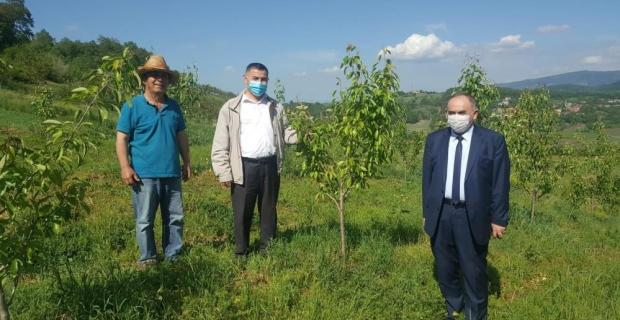 Tarım Müdürü, köylere çıktı