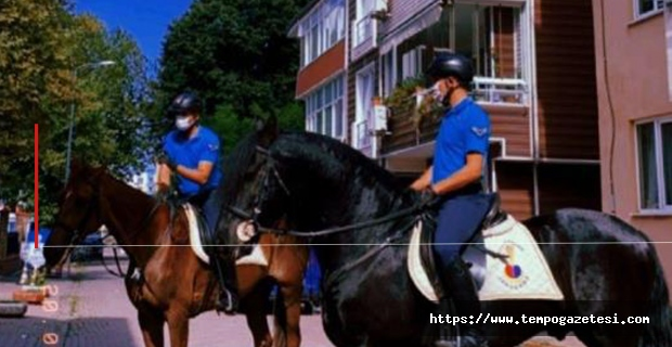 Atlı jandarma ekibi Filyos'ta