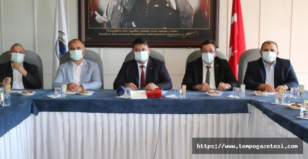 Başkanlar Kurulu toplandı