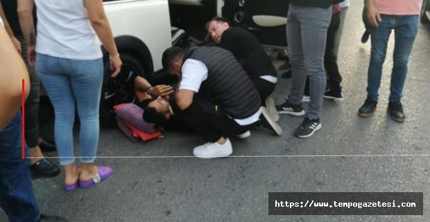 Ereğli'de bir kişi silahla yaralandı...
