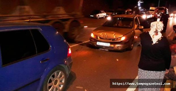 İki otomobil çarpıştı: 4 yaralı...