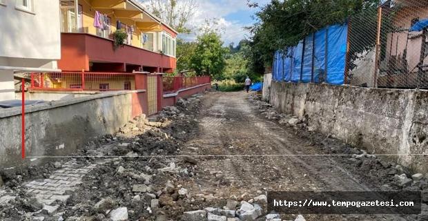 Köylerde içme suyu kanal çalışmaları yapılıyor