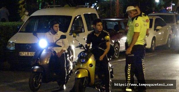 Kurallara uymayan sürücüler cezalandırıldı