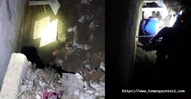 Toprak altında kalan işçiyi AFAD kurtardı...