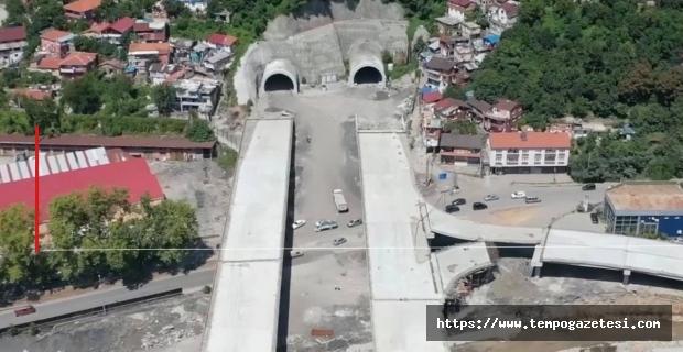 Tünellerde asfalt çalışmaları başlıyor