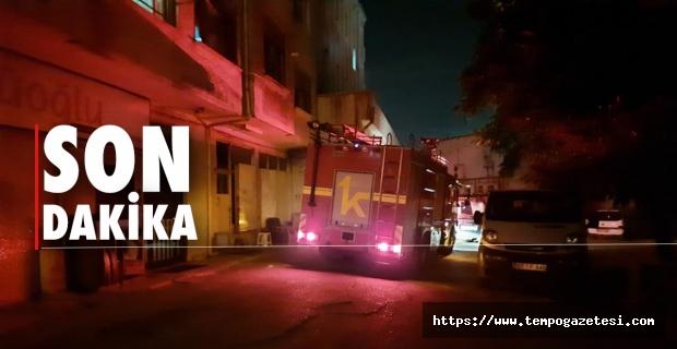 Yangında 1 kişi ağır yaralandı, 2 kişi zehirlendi