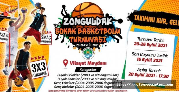 'Zonguldak Sokak Basketbolu Turnuvası Başlıyor'