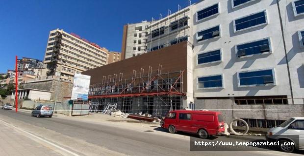 400 yataklı Atatürk Devlet Hastanesi inşaatında sona gelindi...