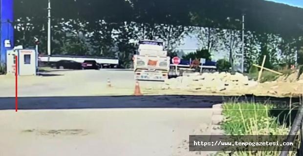 6 Kişinin yaralandığı kaza kameralarda...