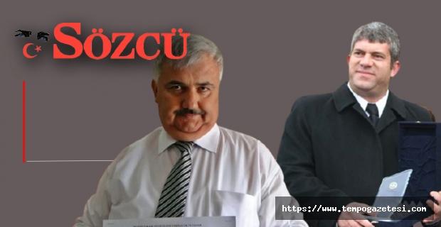 AK Partili Başkanın, rüşvet haberi Ulusal basında...