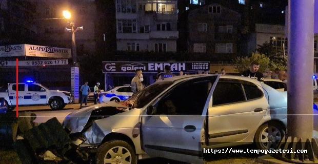 Kırmızı ışıkta durmadı: 3 kişi yaralandı...
