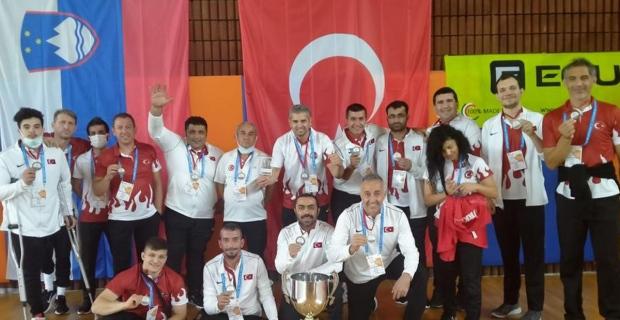 Paravolley Milli Takımı, Avrupa üçüncüsü oldu