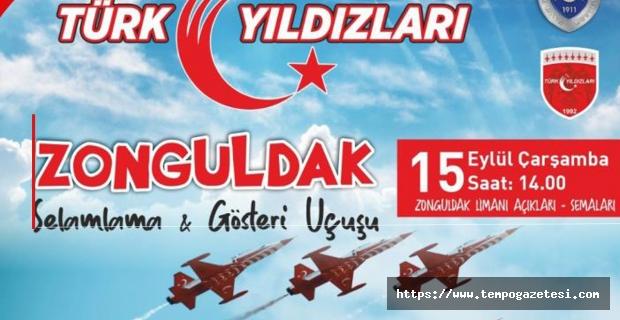 Türk Yıldızları Zonguldak'ta gösteri yapacak
