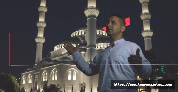 Uzun Mehmet Cami'nde ilk ilahi klibi...