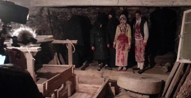 Zonguldak'lı yöneten korku filmi çekti...