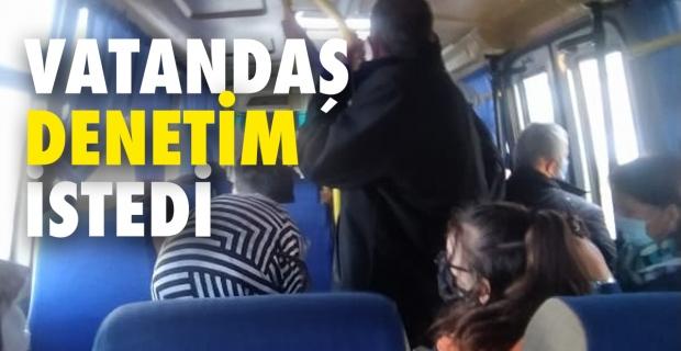 Dolmuş ve otobüsler denetlensin