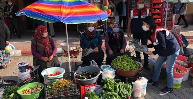 """Jandarma """"Dünya Kadın Çiftçiler Günü'nü unutmadı"""
