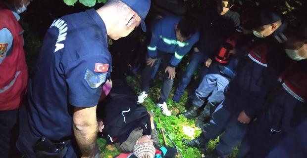 Jandarma, fındık bahçesinde buldu