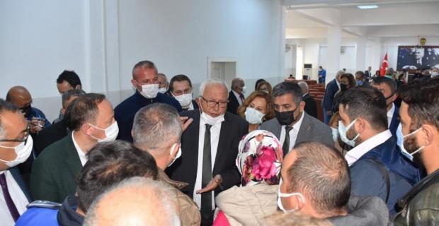 Posbıyık, 2014-2019 dönemi iskan mağdurlarını dinledi