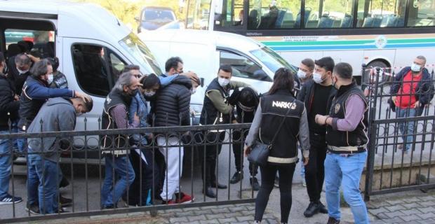 Uyuşturucu operasyonu: 6 Kişi tutuklandı...