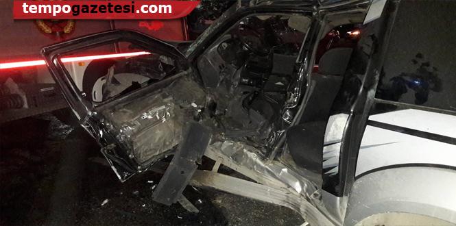 Kazada yaralanan isimler belli oldu...