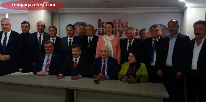 Tosun,Adaylığını açıkladı. Başbakana Zonguldak'ı anlattılar!...