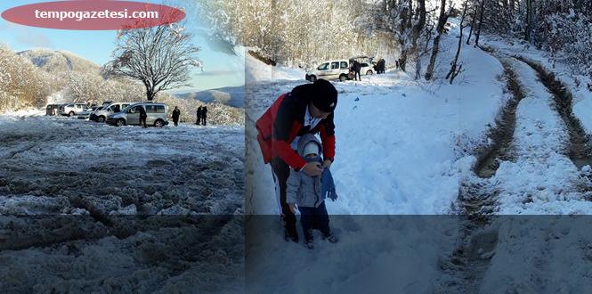 Kar'a gittiler....