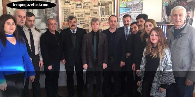 Vali Çınar, KGD'yi ziyaret etti...