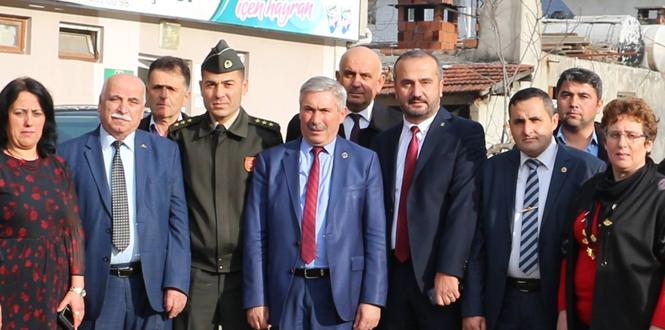 Asker çantası Kozlu Belediyesi'nden...