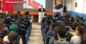 Vali Çınar, Okullarda…