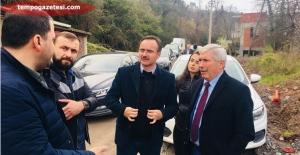 İller Bankası yetkilileri Kozlu'da!..