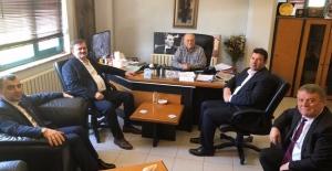 AK Parti, Sanayici Yurtbay'ı ziyaret etti...