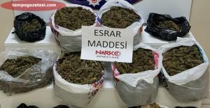 Bahar temizliği operasyonunda6 kilo uyuşturucu ele geçirildi…