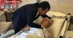 Başkan Gebeş, Hastane ziyaretlerine devam ediyor
